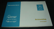 Betriebsanleitung Mercedes Harburger Transporter  L 207 / L 307 Stand 11/1976!
