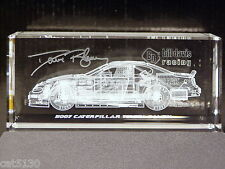 Caterpillar #22 Dave Blaney 2007 Toyota Camry - RACEBRICKS - 3-D Glass Block