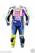 Yamaha Fiat VR46 Motorcycle Motogp Motorbike Racing Leather Suit