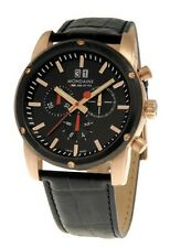Mondaine A690.30338.22SBB Sport II Chronograph Men's Leather and Rubber Watch