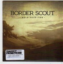 (FF889) Border Scout, Hold Your Fire - 2014 DJ CD