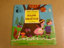 33T SINGLE WALT DISNEY / HANS EN GRIETJE