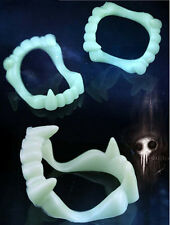 5PCS New Teeth Halloween Costume Fang Kids Fangs Glow in the Dark Vampire