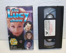 The Lucy Show 3 Episodes VHS Video Out Of Print Lucille Ball Jim Nabors Milton
