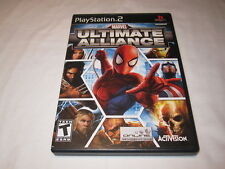 Marvel: Ultimate Alliance (Playstation PS2) Original Release Complete Nr Mint!