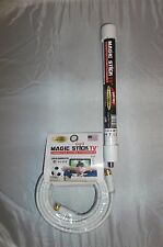 TV Antenna MAGIC STICK, INDOORS/OUTDOORS FREE HD CAMPING HUNTING  USA 20' cable