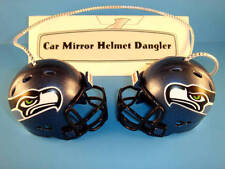 SEATTLE SEAHAWKS CAR MIRROR NFL FOOTBALL HELMET DANGLER - HANG FROM ANYTHING!