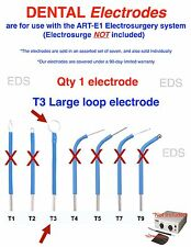 Qty of 1 ( T3 )  DENTAL Electrode  - use with the ART-E1 Electrosurgery system