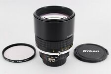 [NEAR MINT] Nikon Ai-s Nikkor 135mm f/2 Manual Focus Prime Lens MF from Japan