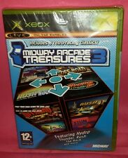 MIDWAY ARCADE TREASURES 3 ---SEALED--- Xbox X-Box X Box Gioco Game EA Sports