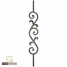 Metal Stair Spindles / Balusters / Balustrades - Round Scroll