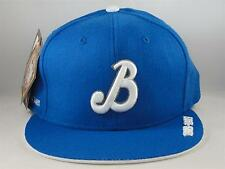 Brooklyn Royal Giants Negro League Headgear Fitted Hat Cap Size 7 1/4 Royal
