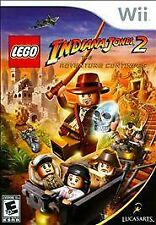LEGO Indiana Jones 2: The Adventure Continues (Nintendo Wii, 2009) Brand New