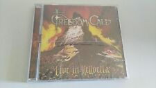 FREEDOM CALL LIVE IN HELLVETIA DOUBLE CD NEW AND SEALED!!!
