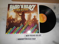 LP VA Hard 'N' Heavy - Super Festival (14 Songs) VERTIGO Bon Jovi Deep Purple