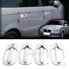Chrome Door Catch Handle Molding Cover Garnish for HYUNDAI 1999-2007 Trajet XG