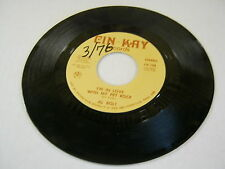 AL BOLT Paint Your World Happy/I'm In Love With My Pet Rock 45 RPM Cin-Kay