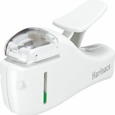 New Kokuyo Harinacs Stapleless Stapler Compact SLN-MSH205 White 5 papers
