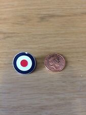 MOD TARGET RAF ROUNDEL QUALITY ENAMEL LAPEL PIN BADGE MEMORABILIA SCOOTER BOY