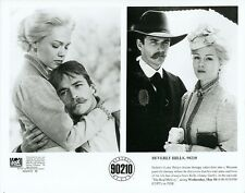 LUKE PERRY JENNY GARTH IN WESTERN GARB BEVERLY HILLS 90210 1995 FOX TV PHOTO
