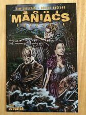 SIGNED Tim Sullivan 2001 Maniacs Hornbook Comic Limited Edition Avatar + Pic
