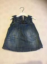 Baby Girls Clothes 0-3 Months - Pretty  Next Denim Dress