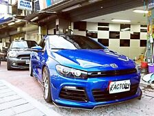 CARBON FRONT LIP SPOILER KZ STYLE FOR VW SCIROCCO R ONLY