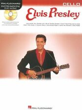 Play-Along Elvis Presley Learn to Play Pop Rock n Roll CELLO Music Book & CD