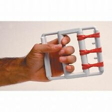 Fabrication Enterprises Cando Rubber Band Hand Grip Exercisers - 5 Red Bands