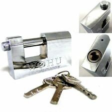 90MM HEAVY DUTY ANTI RUST SHUTTER PADLOCK SECURITY SHACKLE LOCK H-QUALITY STEEL