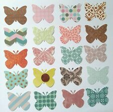 Handmade butterfly punches/die cuts lot, cards, scrapbook, craft, DIY
