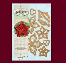 Spellbinders Shapeabilities Holiday LAYERED POINSETTIA S5-055 ~ New in Package