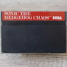 Sega master system ► sonic the hedgehog chaos ◄ module | top