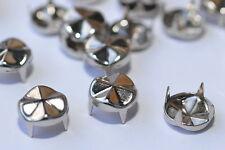 100x Ziernieten / Nieten / Krallennieten, Ø9.4 mm, rund-wellig, C&C Metal Prod.