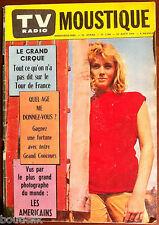 Tv Radio MOUSTIQUE du 24/08/1958; Tout ce qu'on à pas dit sur le Tour de France