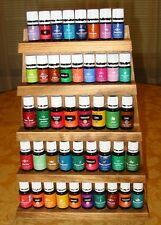Essential Oils Wood Storage Display Holder Rack for Young Living & doTERRA Oils