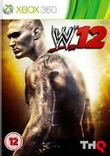 WWE 12 ~ XBox 360 (in Great Condition)