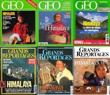 HIMALAYA - SHERPAS - géo / prixportcompris