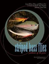 Striped Bass Flies : Patterns of the Pros by David Klausmeyer (2007, Hardcover)