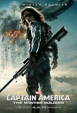 Captain America The Winter Soldier (2014) Movie Poster (24x36) - Sebastian Stan