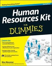 Human Resources Kit For Dummies (For Dummies (Business & Personal Finance))