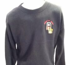 Andrew Rohan 100% Cotton Black Long Sleeve Sweater First US Army Size X-Large XL