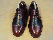 BARKER TWO-TONE QUARTER-BROGUES 8