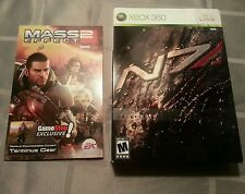 NEW Sealed! Mass Effect 2 Collectors Edition (Microsoft Xbox 360, 2010)