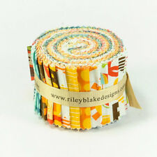 School Days  Jelly Roll Rolie Polie Pre-cut Quilt Fabric Strips by Riley Blake
