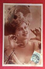 CPA. Actrice BRÉSIL. 1905. REUTLINGER. Couleur Sépia.