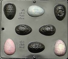 """2 1/4"""" Fancy Egg Assembly Chocolate Candy Mold Easter  1810 NEW"""