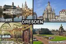 SOUVENIR FRIDGE MAGNET of DRESDEN GERMANY