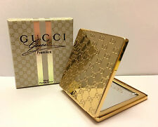 GUCCI PREMIERE COMPACT MAKE UP / POCKET MIRROR New in Box