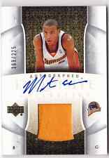 2005-06 Exquisite MONTA ELLIS Auto Patch RC Rookie Card #d 225